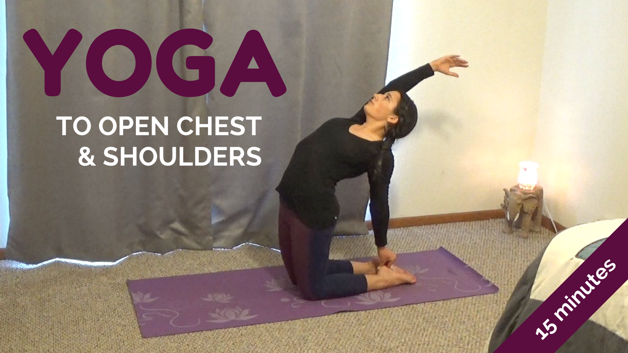 Heart Opening Yoga Sequence (Video)